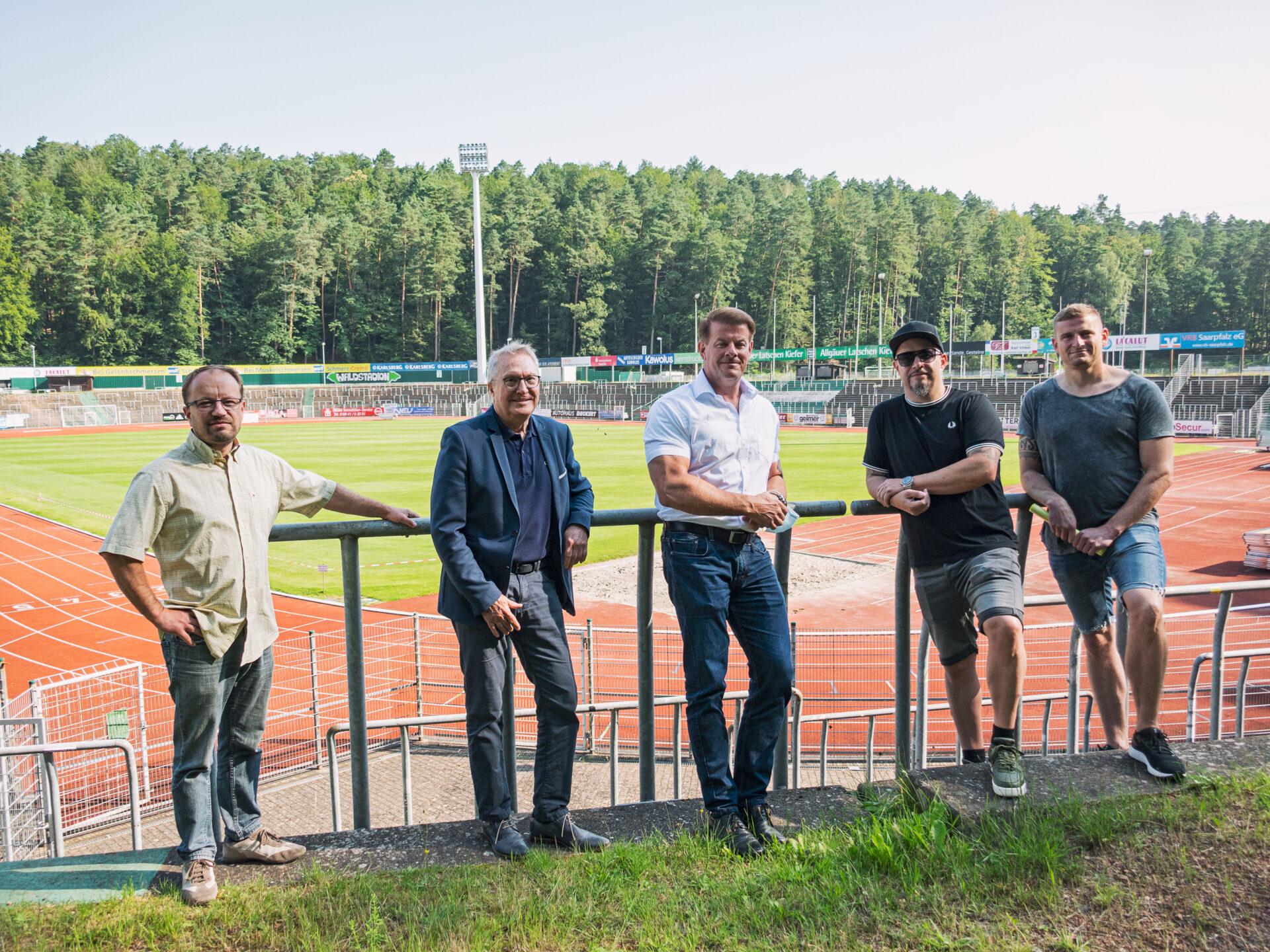 Schwamm Caterer Waldstadion